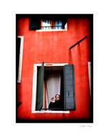 Women in Window - Italy